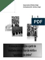 DESTILADOS DE ORIGEM VÍNICA