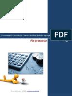 Processo de Controle de Custos e Análise de Valor Agregado