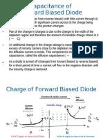Capacitanceof Forward Biased Diode
