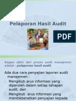 Pelaporan Audit