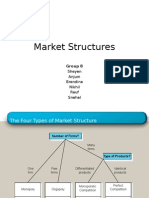 Market Structure Ppt Group 8
