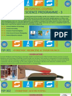 JOB ORIENTED FORENSIC SCIENCE COURSES