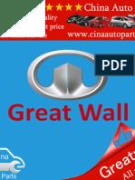 great wall parts Catalogue