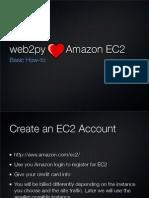 Howto deploy Web2py on amazon Ec2