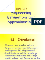 5. 4. MEC 100 CHAPTER 4 (Engineering Estimation & Approximation)