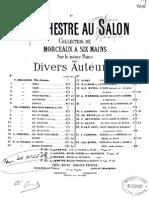 Gounod - Marche Funebre d Une Marionette Arr 6 Hands