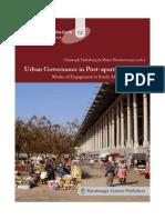 Urban Governance in Post Apartheid Cities