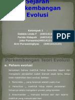 Sejarah Perkembangan Evolusi