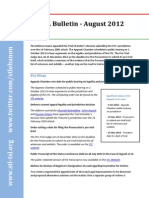 STL Bulletin - August 2012