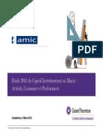 Le Captial Investissement Au Maroc2011
