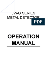 Instruction Manual for Metal Detector
