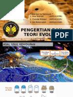 Pengertian Dan Teori Evolusi