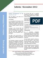 STL Bulletin - November 2012