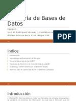 Auditoría de Bases de Datos