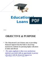 Education loan.ppt