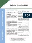 STL Bulletin - December 2012