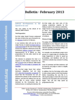 STL Bulletin - February 2013