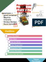 Praktikum Bioreaktor Enzimatis Kelompok 3