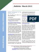 STL Bulletin - March 2013