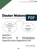CAPITULO I - Requisitos Matemáticos para MECANICA