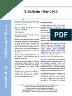 STL Bulletin - May 2013