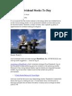 3 Big Oil Dividend Stocks to Buy