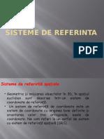 Sisteme de Referinta