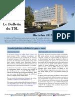 Bulletin du TSL - Décembre 2013 - Janvier 2014