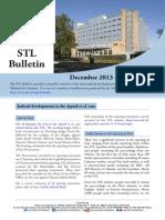 STL Bulletin - December 2013 - January 2014