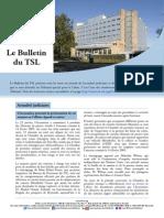 Bulletin du TSL - Février 2014