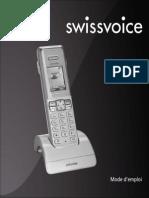 Guide Utilisateur SWISSVOICE DECT IP 300