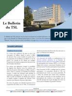 Bulletin du TSL - Mars 2014