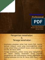 Keperawatan Profesional Ppt