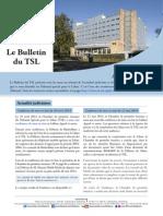 Bulletin du TSL - Avril/Mai 2014