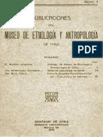 Medicina e Higiene de los antiguos araucanos GUSINDE