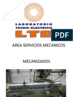 Area Servicios Mecanicos Lte