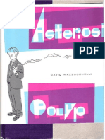 Asterios Polyp - David Mazzucchelli - Graphic Novel