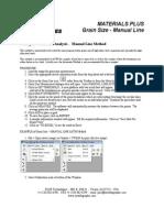Grain Measurement Manual Line