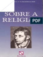 Sobre a Religião - Friedrich F. Schleiermarcher