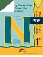 Prop. y Contenidos de La Educ. Preescolar i