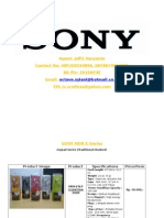 Sony Headset Catalogue