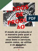 Modo de produção, Forças produtivas e Relações produtivas