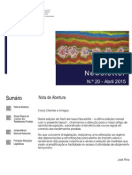 Newsletter CAMMP n.º 20 de abril de 2015