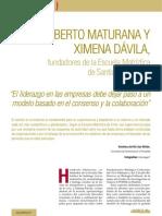 Entrevista a Humberto Maturana Sobre El Liderazgo