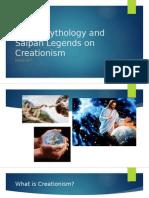 Greek Mythology and Saipan Legends on Creationism