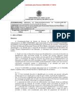 Parecer CNE/CEB N° 3/2014