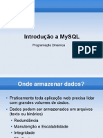 Aula 10 MySQL - Introducao