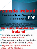 'Suicide Ireland' Research & Societal Response by Theresa Lowry-Lehnen