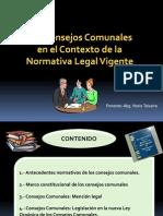 Capacitacion de La Ley Organica de Los Consejos Comunales