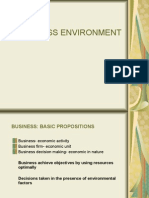 1. Business Environment